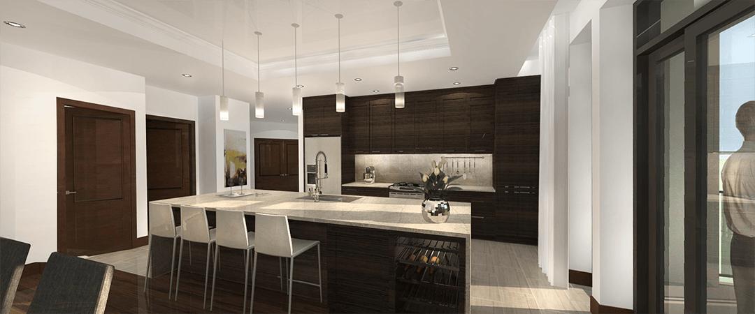 Les Terrasses Calixa-Lavallée - Cuisine Penthouse J