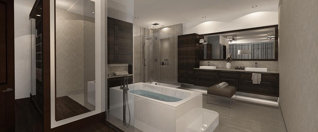 Les Terrasses Calixa-Lavallée - Salle de bain Penthouse J