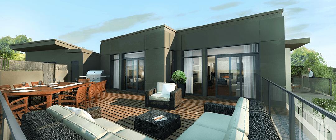 Les Terrasses Calixa-Lavallée - Terrasse Penthouse J