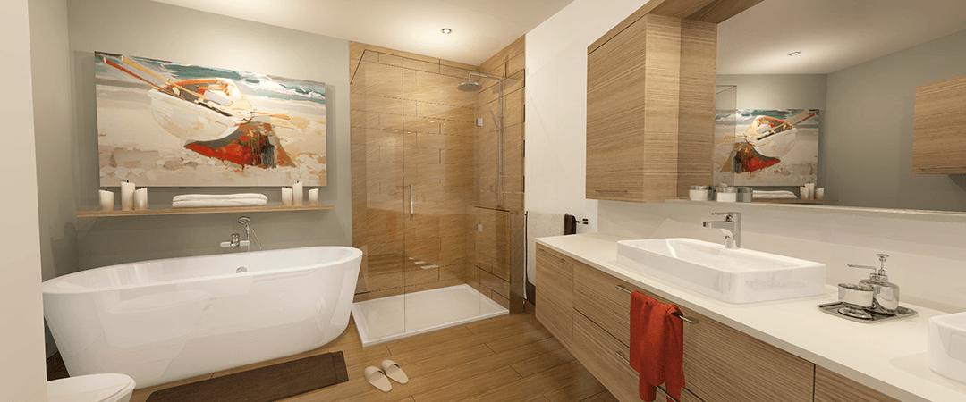 Les Terrasses Calixa-Lavallée - Condo B salle de bain